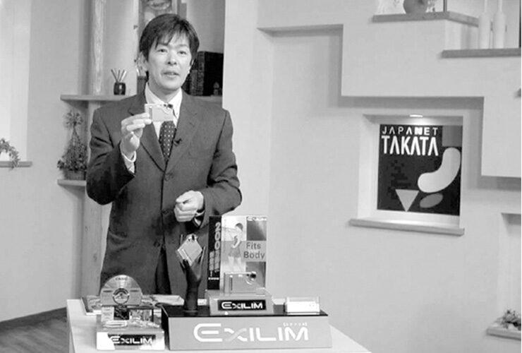 ラジオショッピングに始まり、1994 年にはテレビショッピングをスタート。創業者の 髙田明前社長は全国的に知られる存在に。